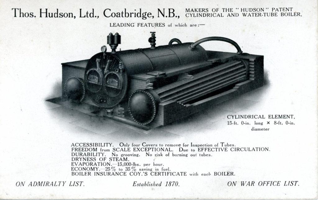 Hudson's Patent Boiler