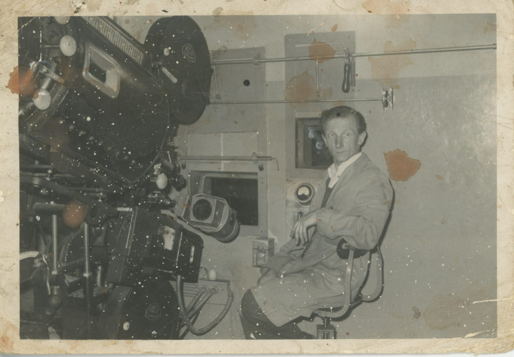 Projectionist, Coatbridge Regal, 1968