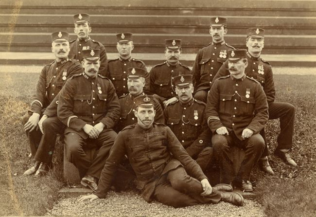 Lanarkshire Constabulary, around 1910