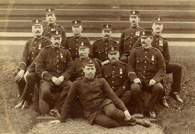 Lanarkshire Constabulary, around 1910