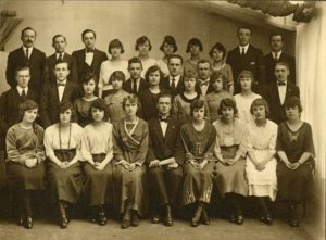 Glasgow Lithuanian Choir, around 1926