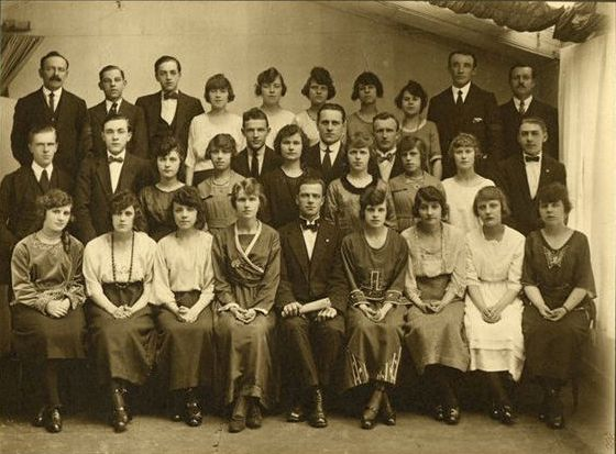 Glasgow Lithuanian Choir, around 1926