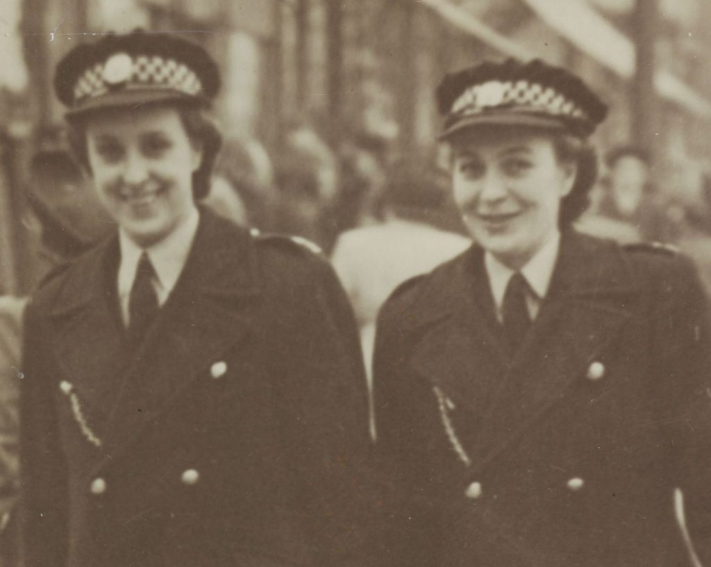 WPC Fraser and WPC Cook, Coatbridge, 1947