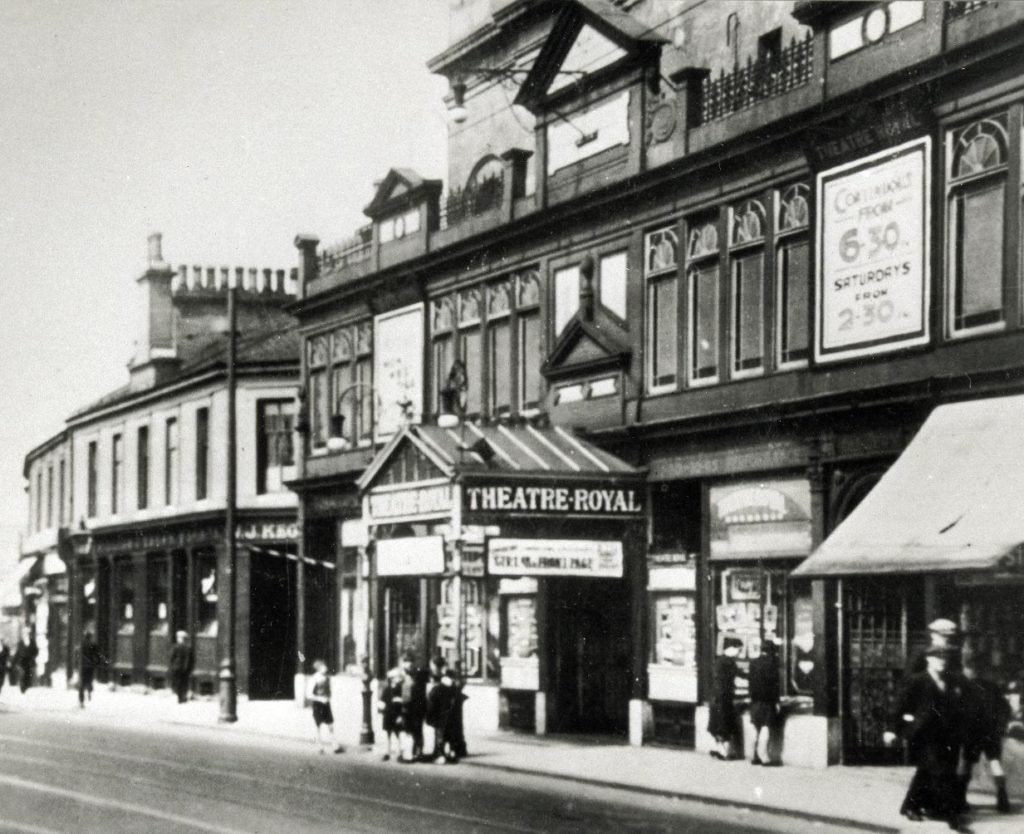 Theatre Royal, Coatbridge, around 1930
