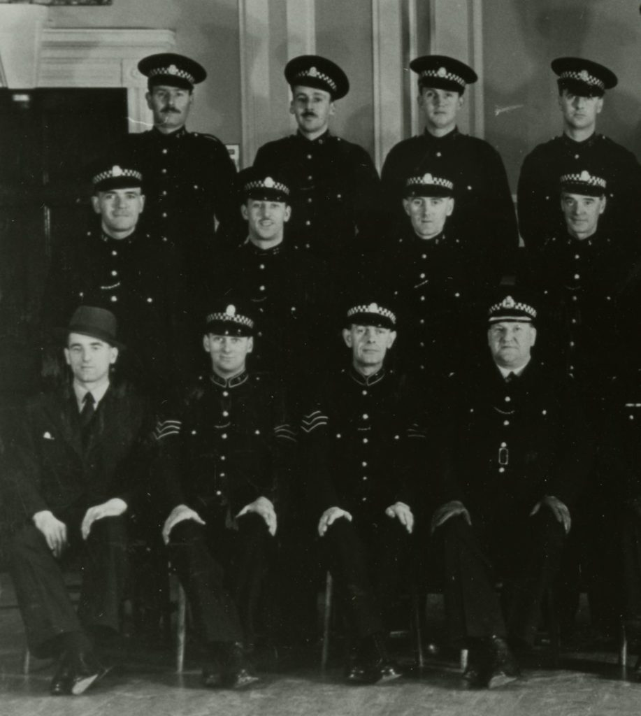 Airdrie Burgh Police, around 1900