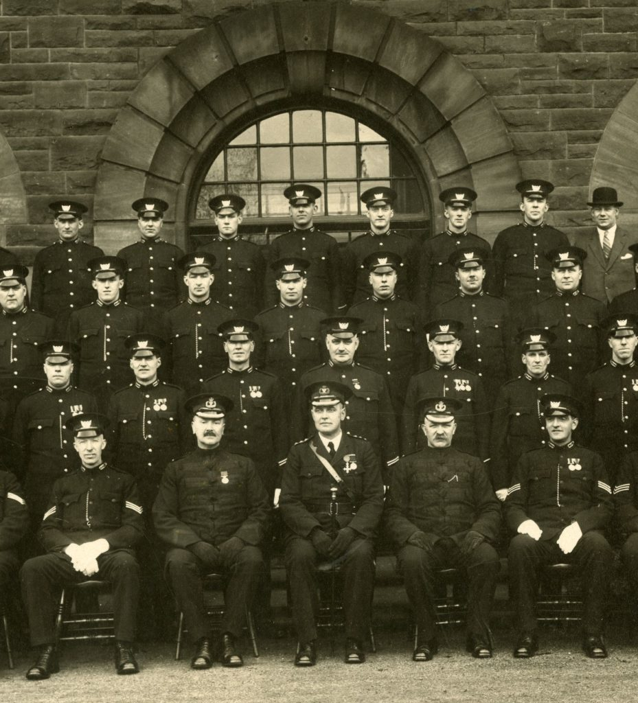 Motherwell Police Station, around 1930