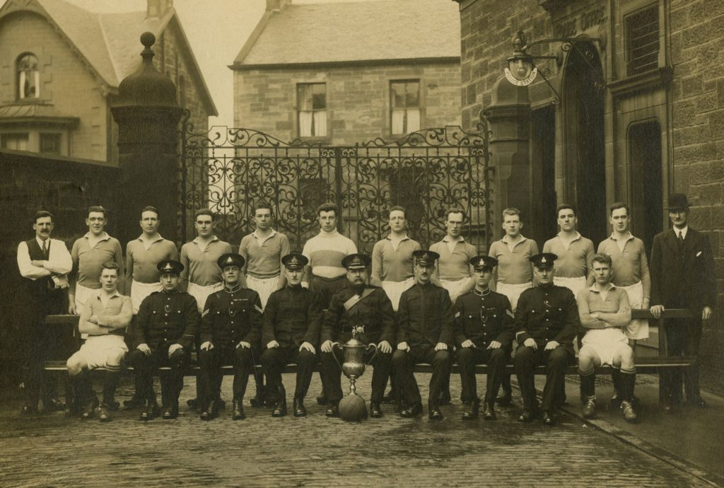 Coatbridge Burgh Police Football Team, 1927