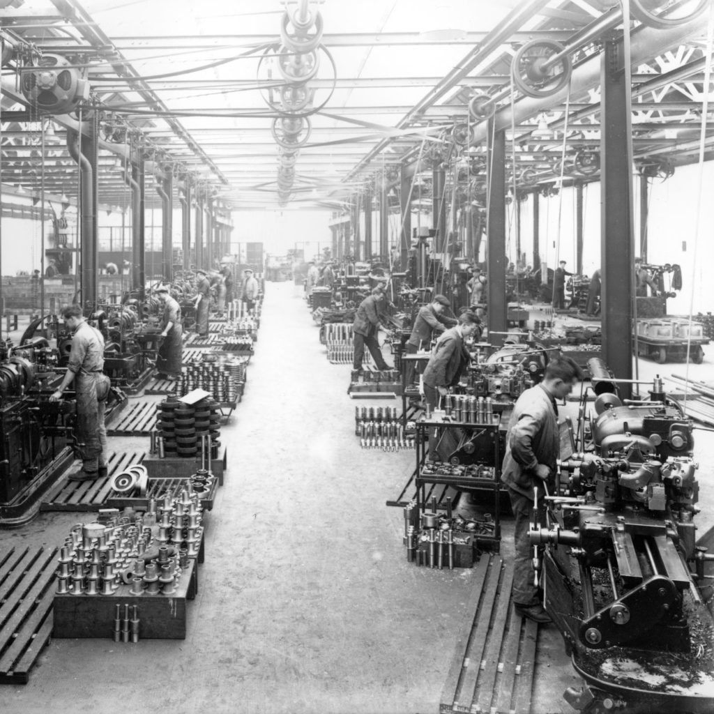 The Turning Shop at Anderson Boyes & Co, Motherwell