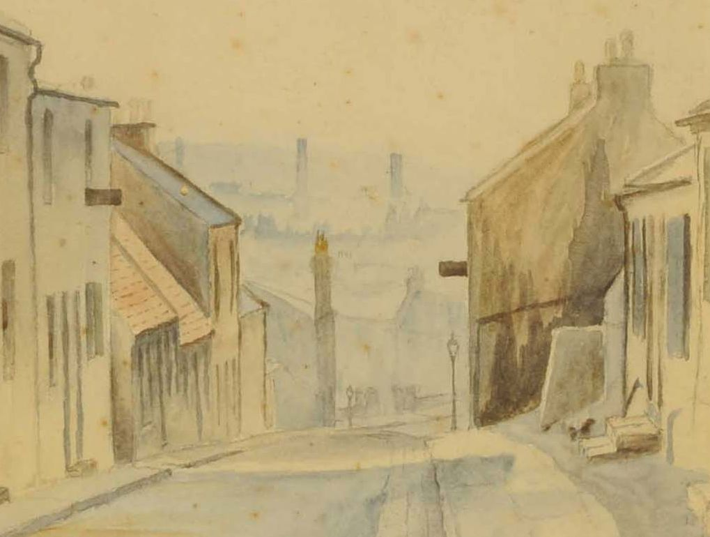 Detail of Wellwynd by Charles Sheldrake, 1909