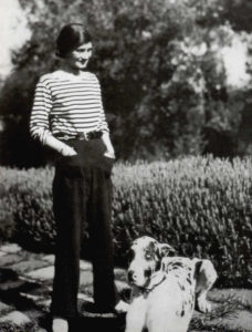 Gabrielle 'Coco' Chanel by unknown photographer, 1928