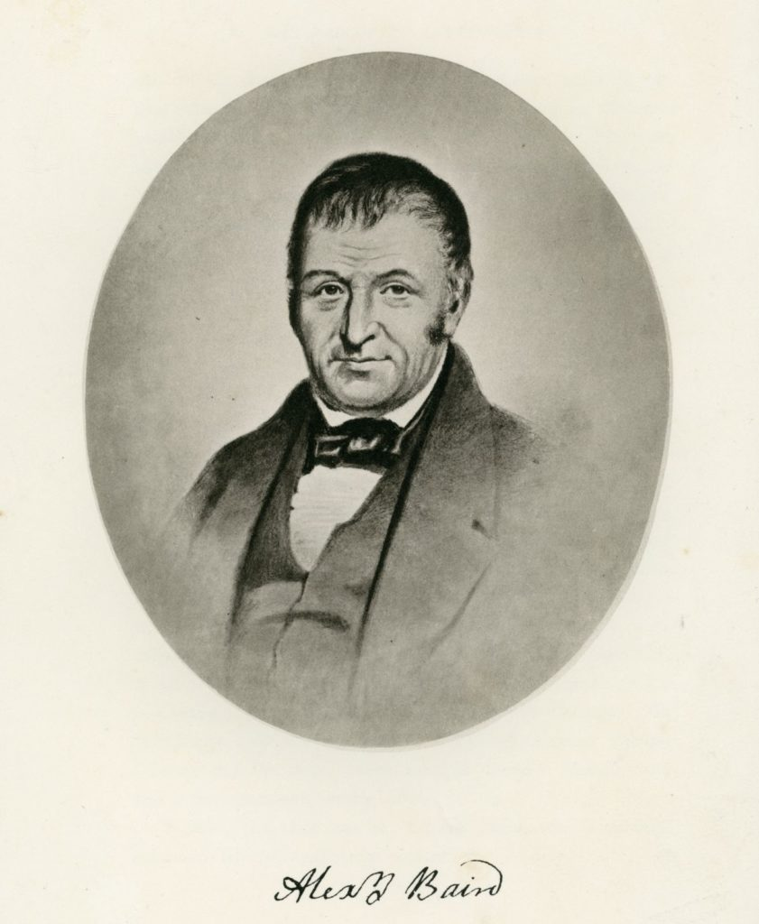 Alexander Baird Snr, 1765-1833