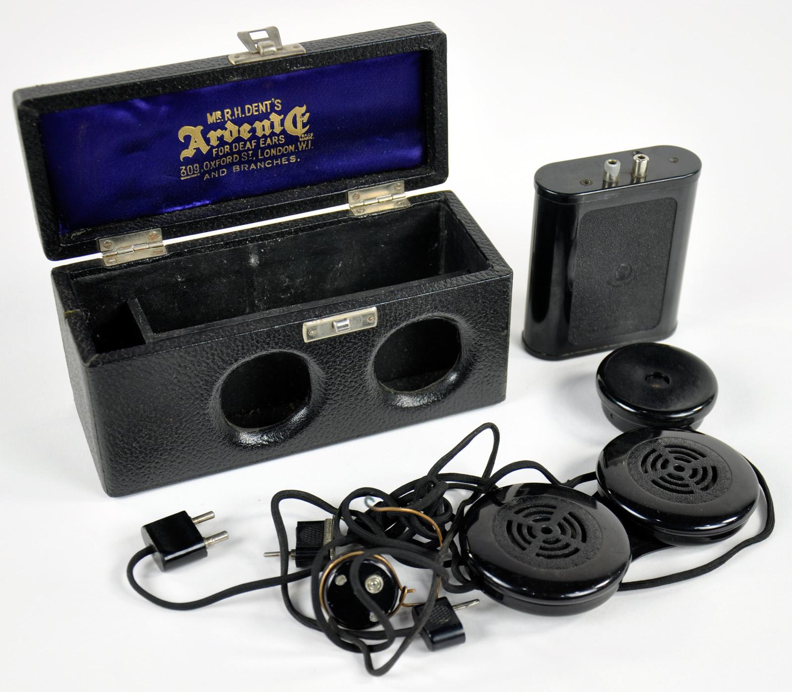 Ardente carbon hearing aid, around 1930
