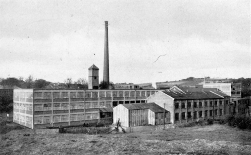 Moffat Mills from the south, around 1920.