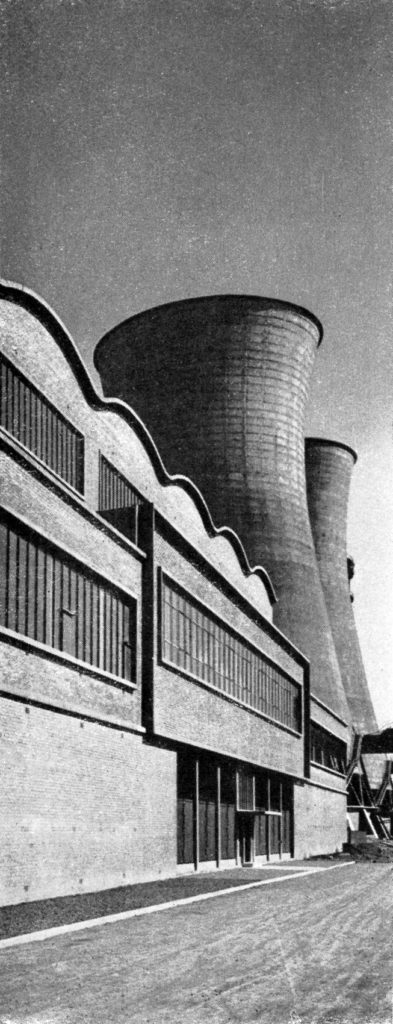 The Power Station at Motherwell, around 1960.