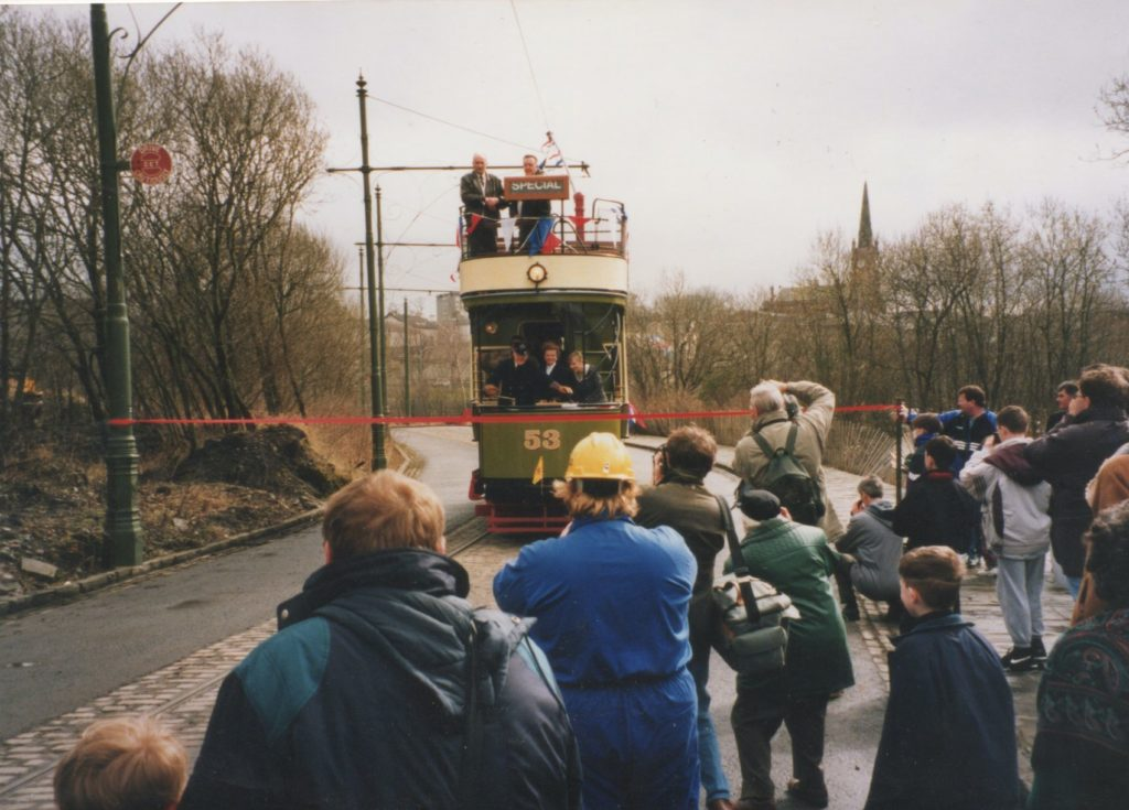 53 First day in Passenger service on the 1st April 1995.