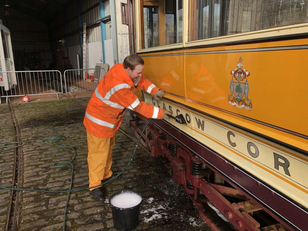 James Fraser cleaning Glasgow 1017