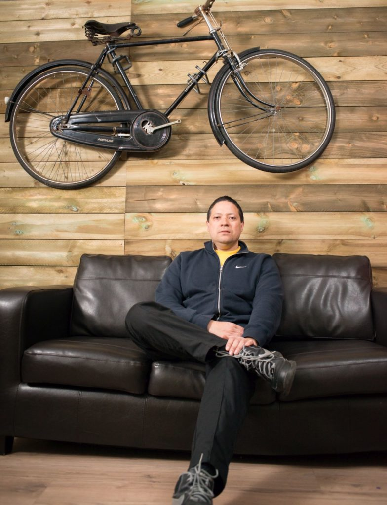 Shamus was co-founder of IAmBikes, a cycling charity in Cumbernauld.