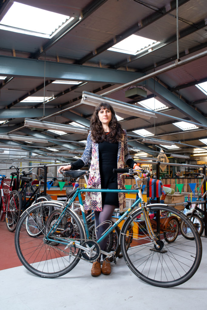 Victoria managed the 'Better Way to Work' campaign for the Glasgow Bike Station and was the founder of the 'Belles on Bikes' women's cycling group.